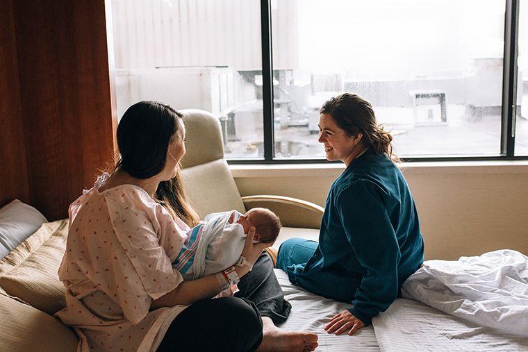 Women In Hospital