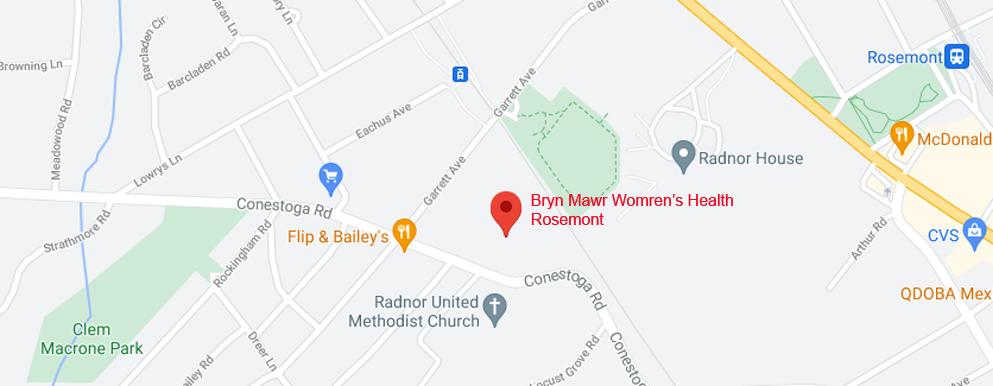 Bryn Mawr Women's Health Rosemont - Axia Women's Health