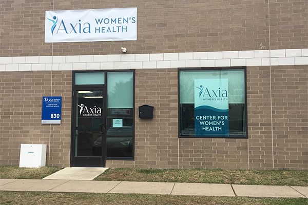 Center for Women's Health - Langhorne exterior - Axia Women's Health