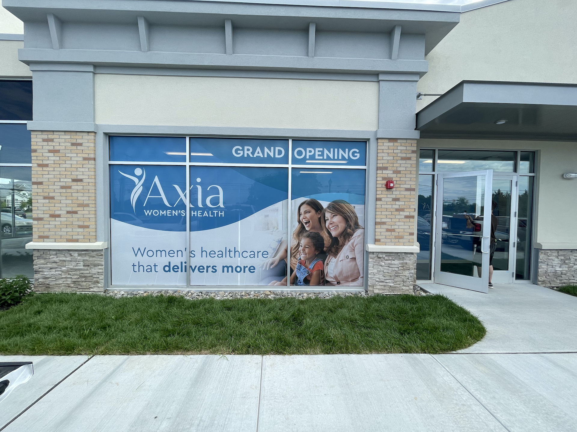 Axia Women's Health Sewell NJ location front of office