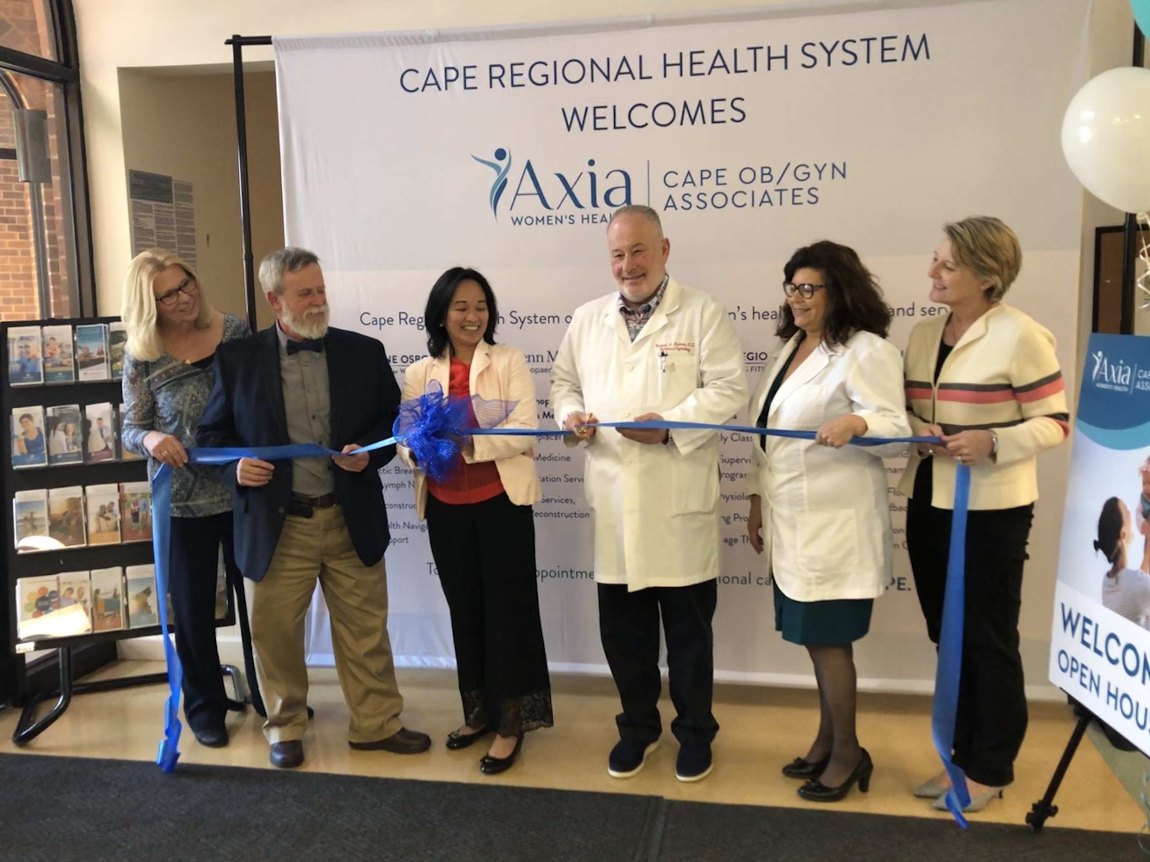 Cape May OB/GYN Ribbon Cutting