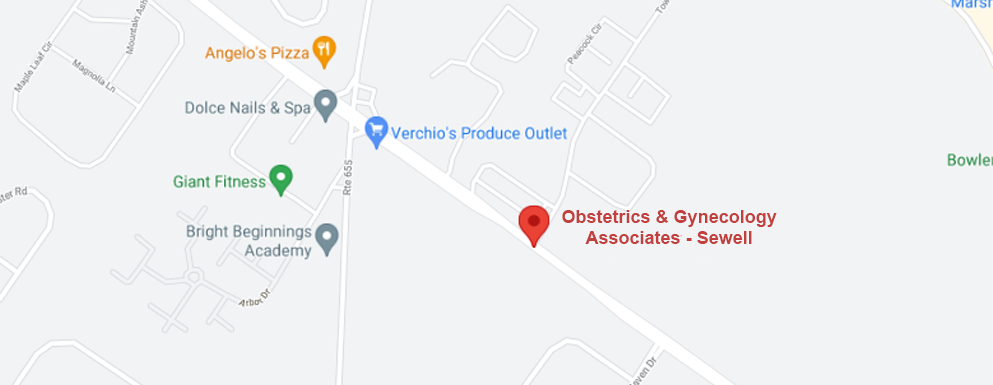 Obstetrics and Gynecology Associates - Sewell location map image
