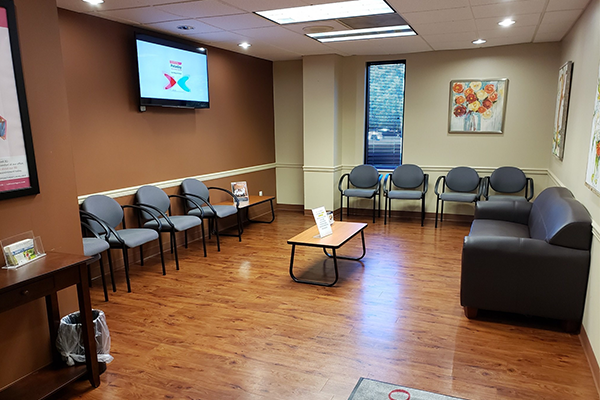 Rubino OB/GYN Clark waiting area - Axia Women's Health