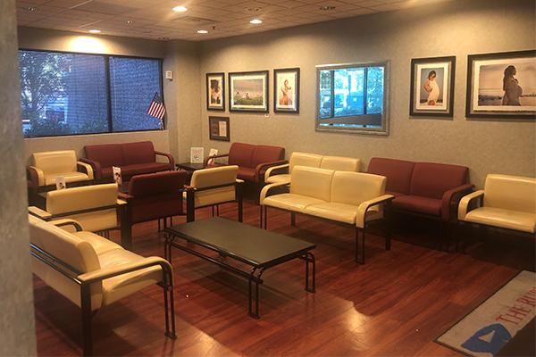 Rubino OB/GYN West Orange Waiting Area - Axia Women's Health