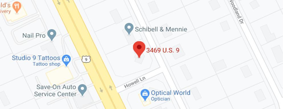 Ocean Obstetric & Gynecologic Associates Howell NJ Google Map image - Axia Women's Health