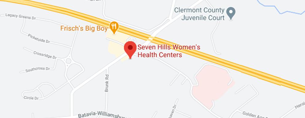 Seven Hills Women's Health Centers Batavia - Map - Axia Women's Health
