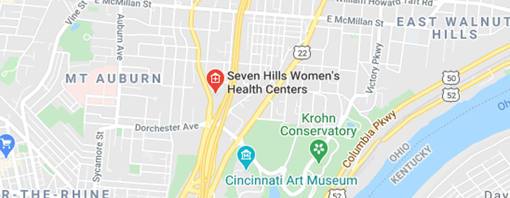 Seven Hills Women's Health Centers Downtown - Map - Axia Women's Health