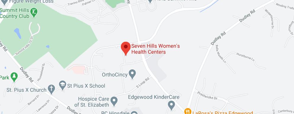 Seven Hills Edgewood map