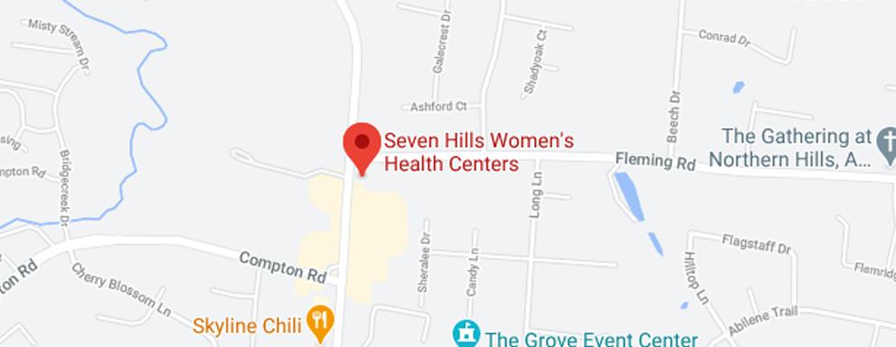Seven Hills Women's Health Centers Finneytown - Map - Axia Women's Health