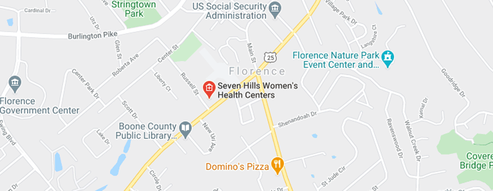 Seven Hills Women's Health Centers Florence - Map - Axia Women's Health