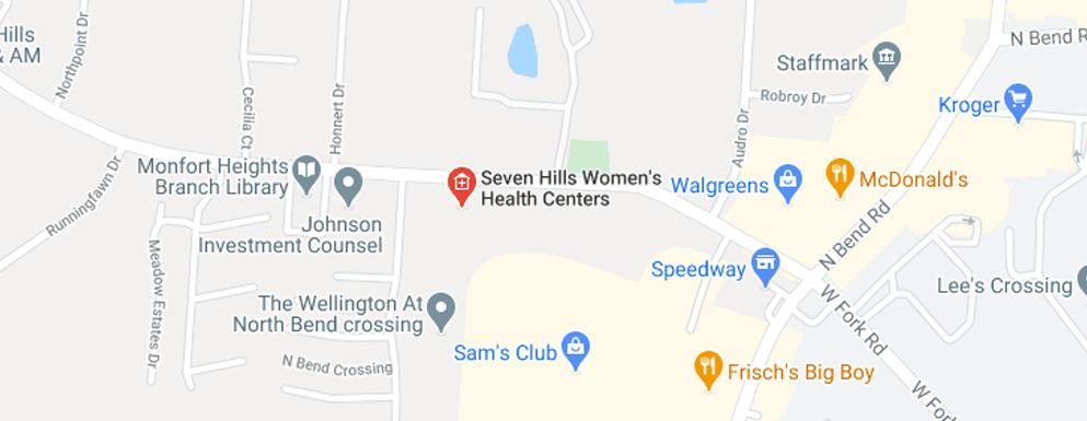 Seven Hills Women's Health Centers Green Twp - Map - Axia Women's Health