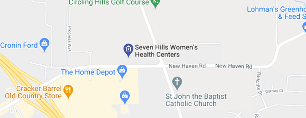 Seven Hills Women's Health Centers Harrison - Map - Axia Women's Health