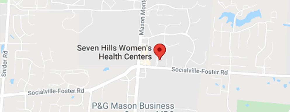 Seven Hills Women's Health Centers Mason - Map - Axia Women's Health