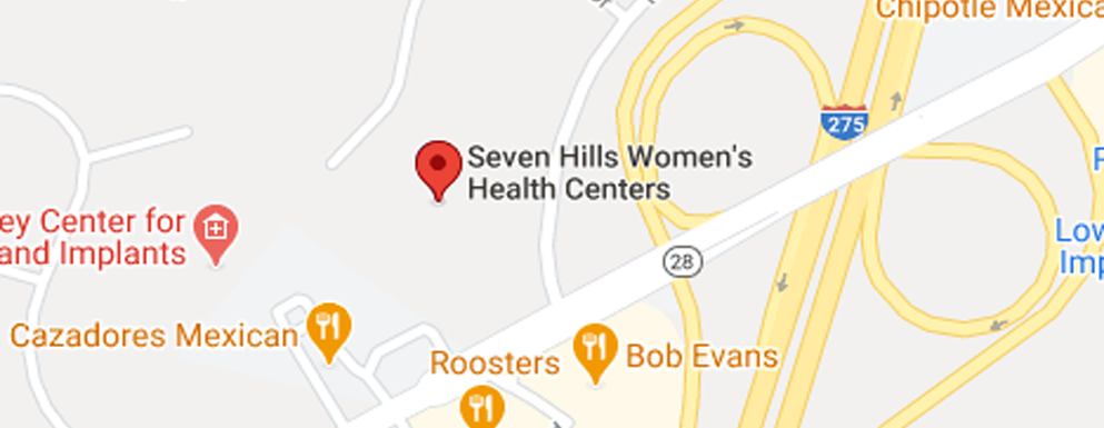 Seven Hills Women's Health Centers Milford - Map - Axia Women's Health