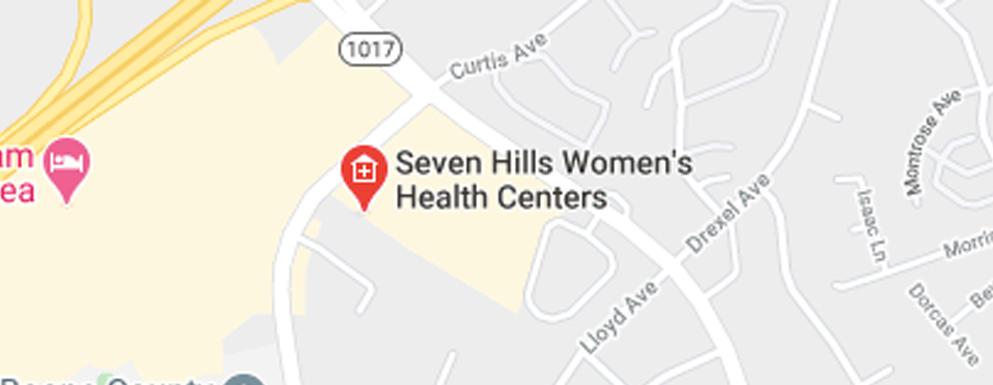Seven Hills Women's Health Centers Turfway - Map - Axia Women's Health