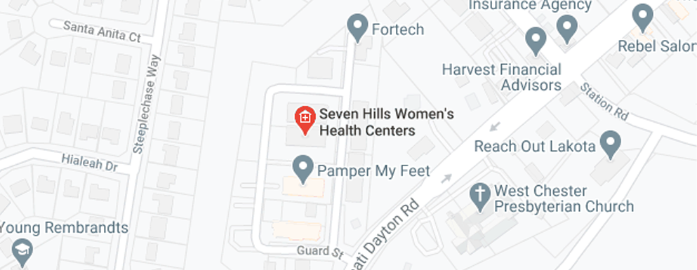 Seven Hills Women's Health Centers West Chester - Map - Axia Women's Health
