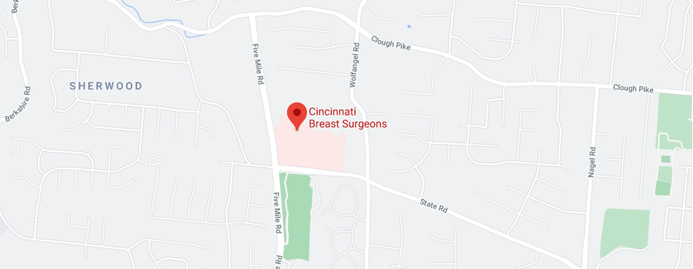 Cincinnati Breast Surgeons East side - Map - Axia Women's Health