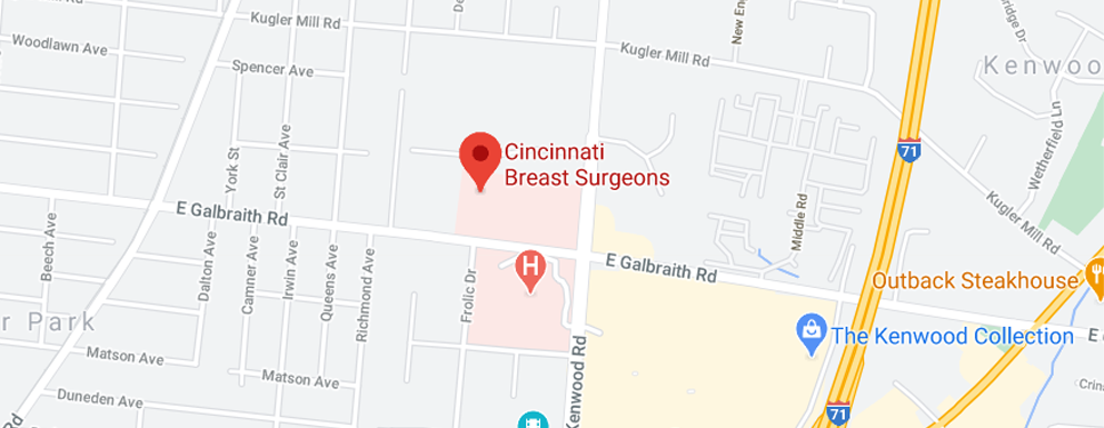 Cincinnati Breast Surgeons Kenwood - Map - Axia Women's Health