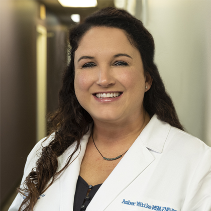 Amber Wittke headshot - Obstetrics and Gynecology of Indiana - Axia Women's Health