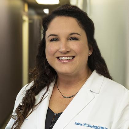 Amber Wittke headshot - Obstetrics and Gynecology of Indiana - Axia Women's Health