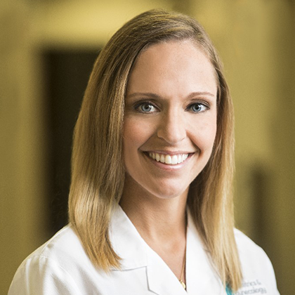 Dr. Brittany Ward headshot - Obstetrics and Gynecology of Indiana - Axia Women's Health