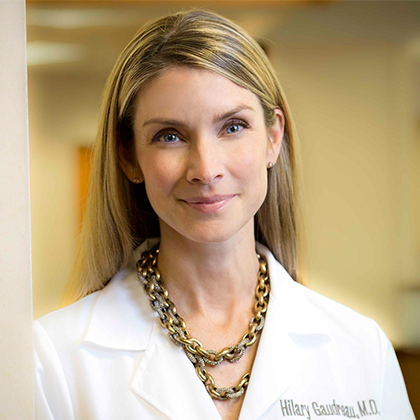 Dr. Hillary Gaudreau headshot - Obstetrics and Gynecology of Indiana - Axia Women's Health