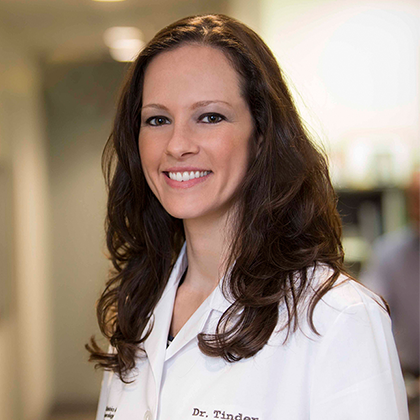 Dr. Jennifer Tinder headshot - Obstetrics and Gynecology of Indiana - Axia Women's Health