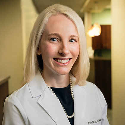 Dr. Nicole Sonn headshot - Obstetrics and Gynecology of Indiana - Axia Women's Health