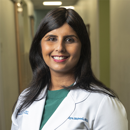 Dr. Sumiya Majeed headshot - Obstetrics and Gynecology of Indiana - Axia Women's Health