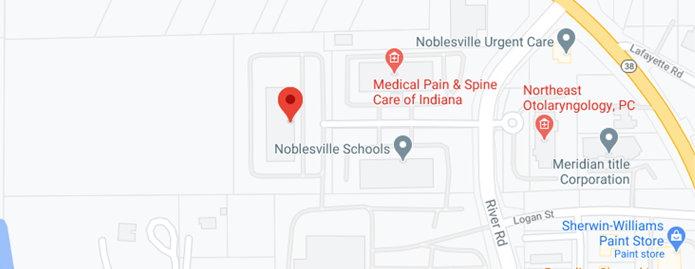 Obstetrics & Gynecology of Indiana of Noblesville map