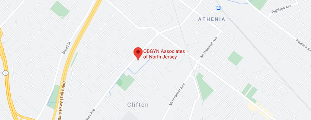 OB/GYN Associates of North Jersey - Clifton map image