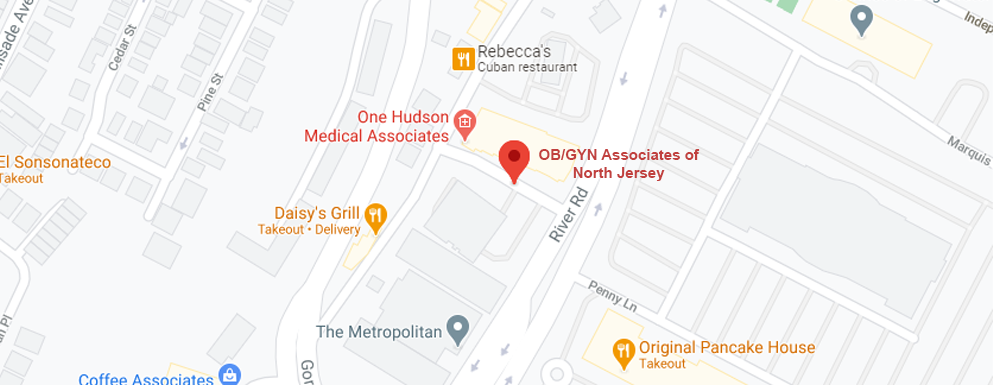 OB/GYN Associates of North Jersey - Edgewater map image