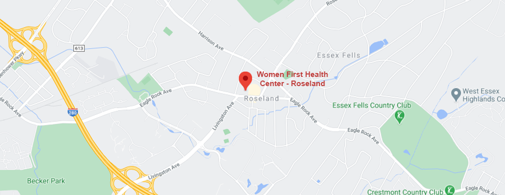 Women First Health Center Roseland Office map
