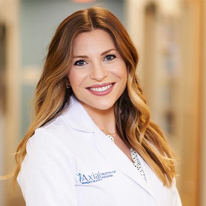 Dr. Christina Harris headshot - Axia Women's Health